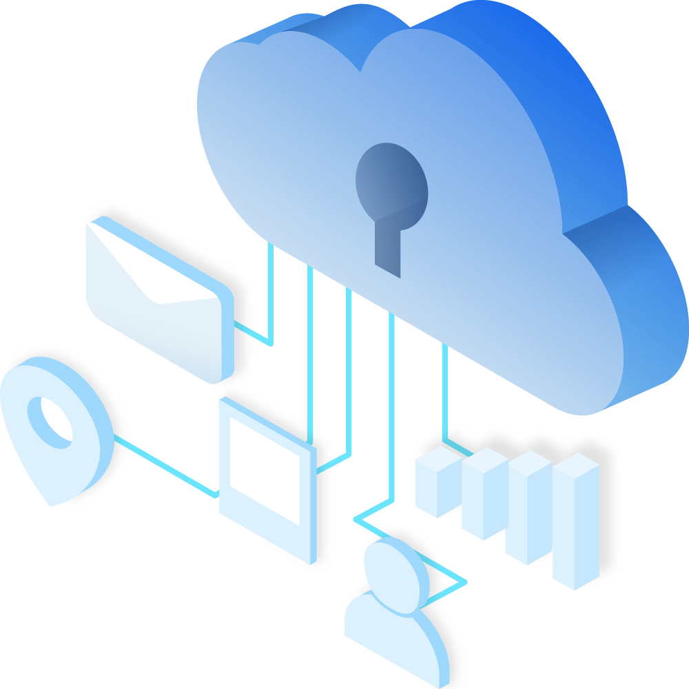 cloud automation deployment icon